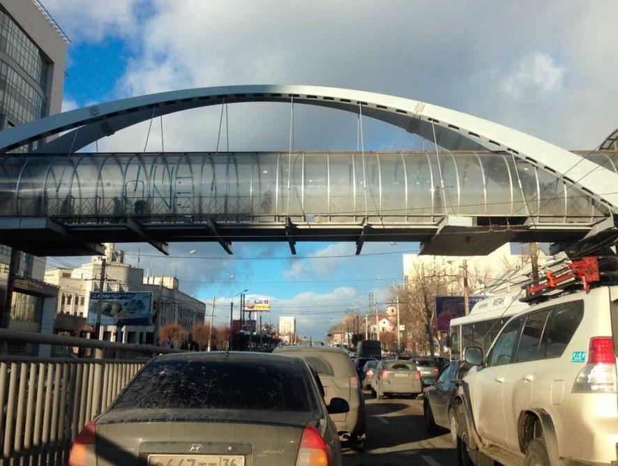 Воронежские власти планируют к середине 2019 года разработать проект дублера Московского проспекта