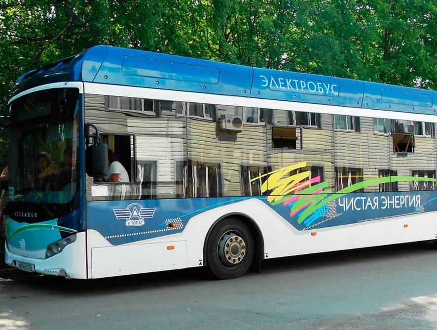 Электробус тестируют в Ижевске
