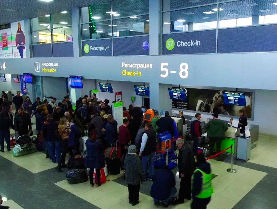 Пассажиропоток воронежского аэропорта перевалил за 600 тыс. человек