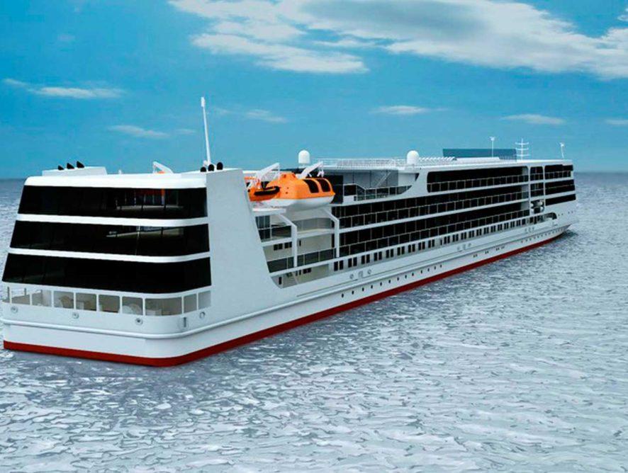 Круизный лайнер PV300, строящийся на заводе Красное Сормово, планируют сдать в 2020 году
