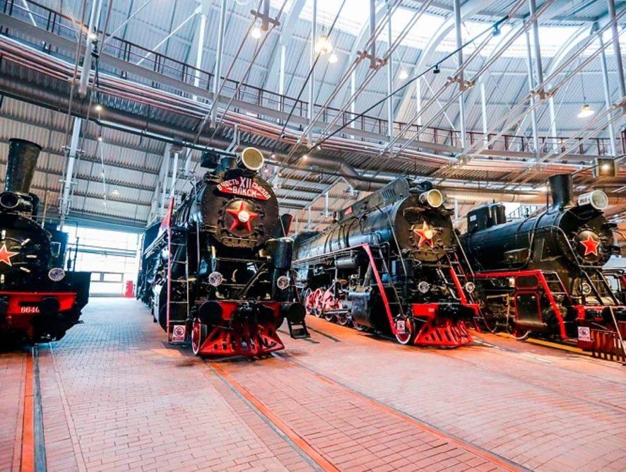 Музей железных дорог России отмечает год со дня открытия