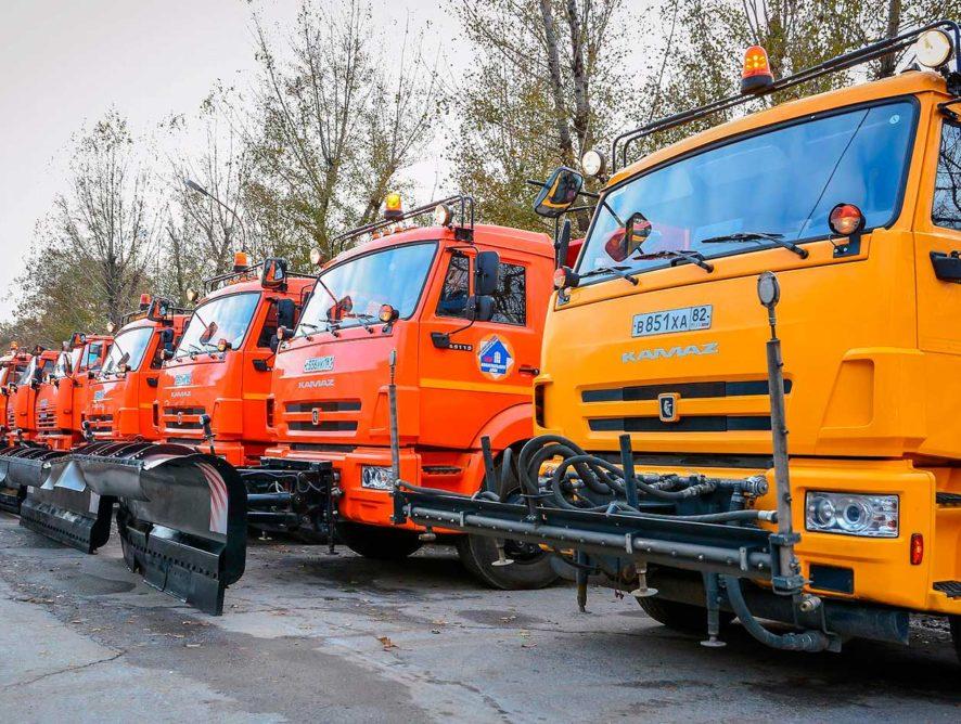 Содержание федеральных трасс зимой обеспечат почти 10 тысяч единиц техники