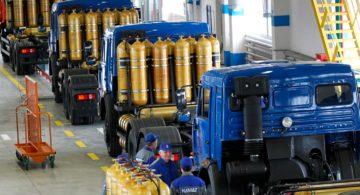 В регионах побуждают транспортные предприятия переходить на экологически чистое топливо
