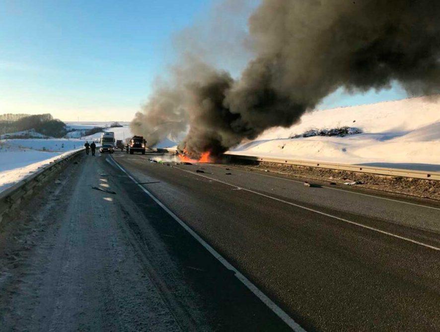После крупной аварии магистраль Курск — Воронеж решили расширить