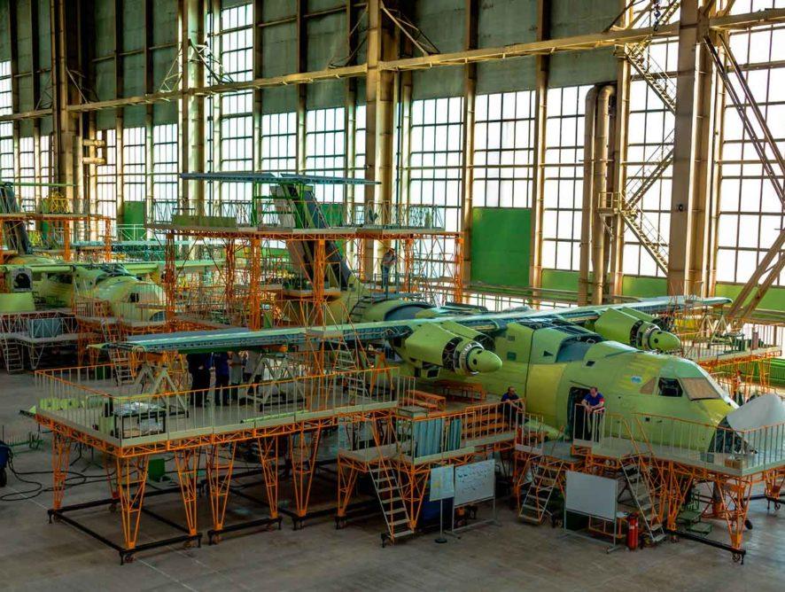 Воронежский авиазавод ищет генподрядчика для реконструкции цехов под производство «Ил-112В» за 900 млн рублей
