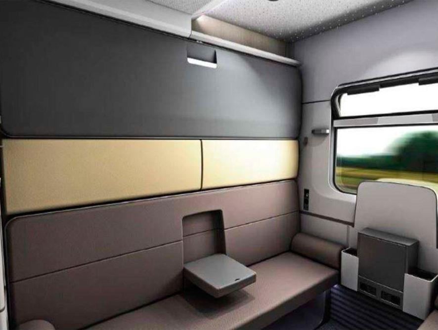 В РЖД показали пассажирские вагоны нового типа
