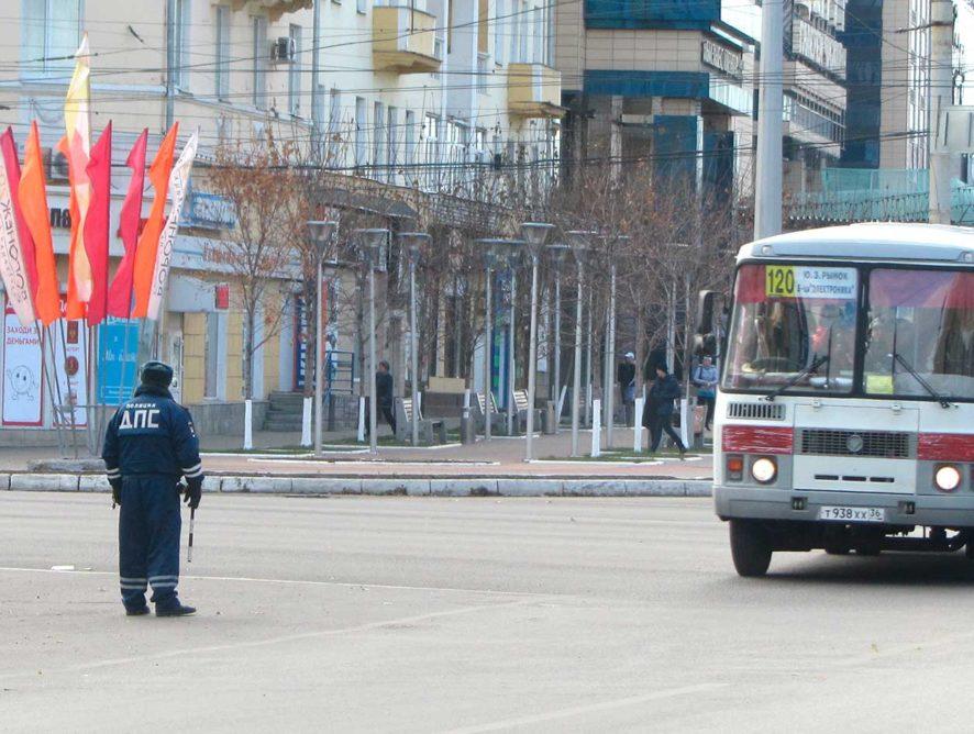 В Воронеже проводится профилактическое мероприятие «Маршрутное такси»