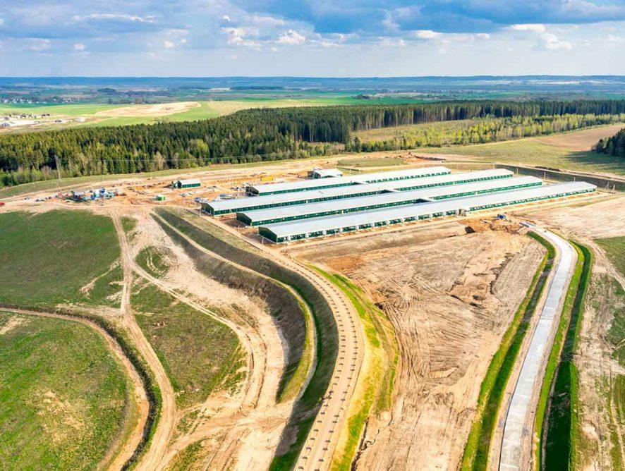К воронежским агрокомплексам проложат дороги за 252 млн рублей