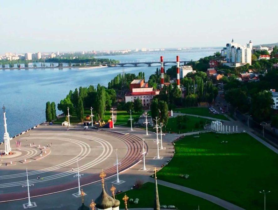 Воронежские власти готовы заплатить 5,5 млн рублей за три сценария развития Петровской набережной