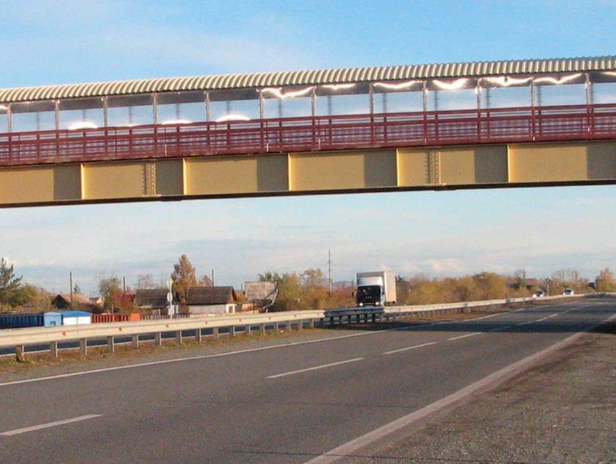 Госэкспертиза одобрила проект строительства пешеходного перехода на трассе М-4 Дон в Воронежской области