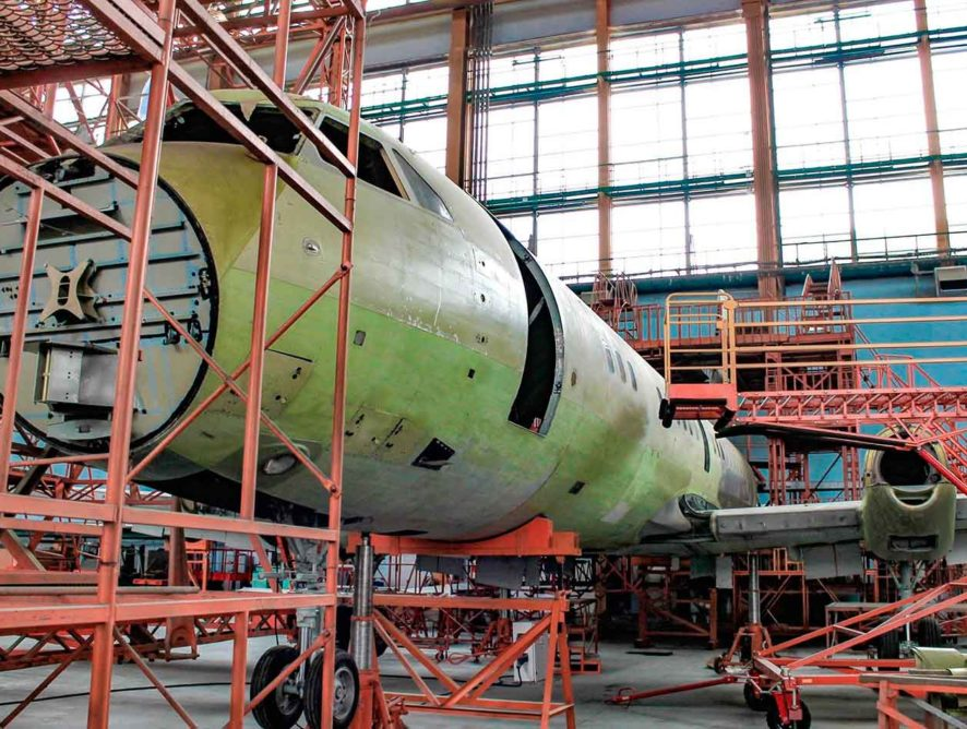 Воронежский авиазавод потратит почти 25 млн рублей на реконструкцию цехов под производство «Ил-114-300»