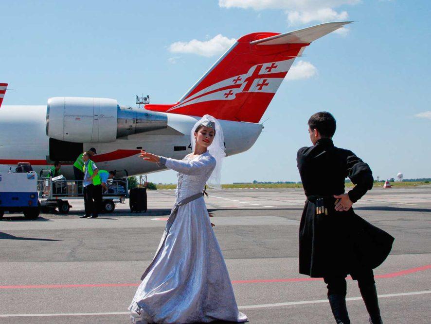 Открытие рейсов из Воронежа в Тбилиси перенесли на месяц