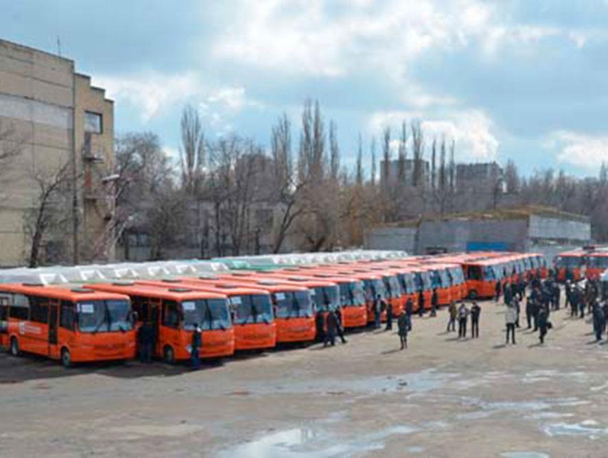 В Воронежской области региональный парк подвижного состава пополнили 37 новых автобусов