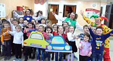 В Воронежской области в рамках акции «Дорожный патруль безопасности» прошло театрализованное представление по ПДД