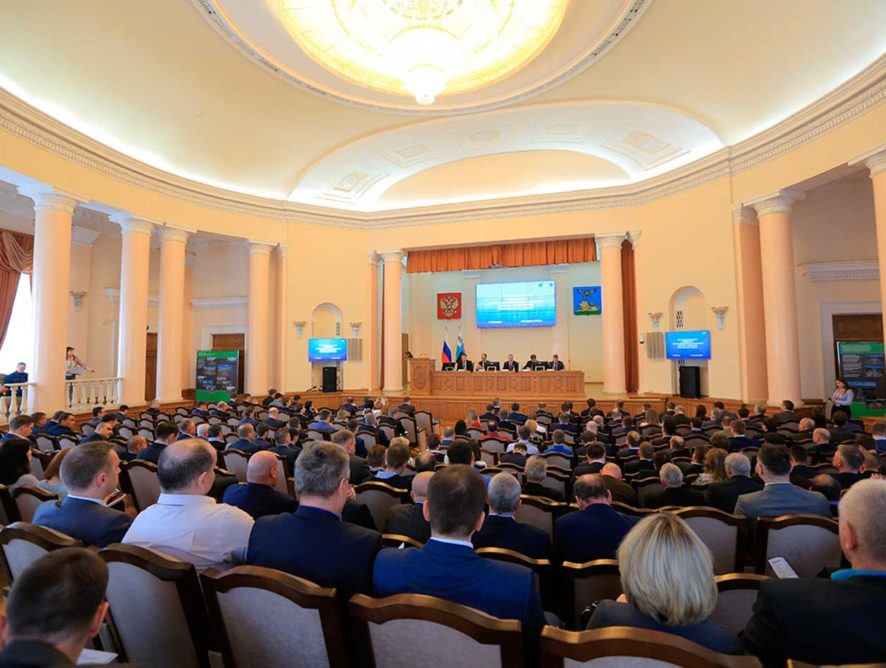 Новые прогрессивные технологии ремонта и содержания автодорог представили на межрегиональной конференции в Белгороде