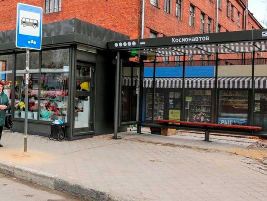 В Воронеже вторую «умную» остановку оснастят тактильной плиткой