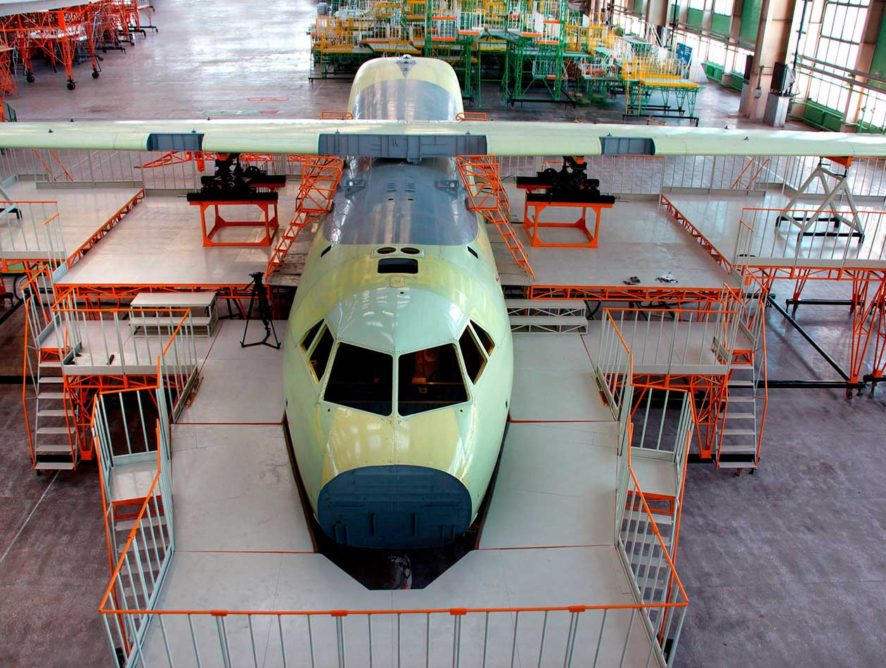 Воронежский авиазавод сэкономит почти 60 млн рублей на реконструкции цехов под производство «Ил-112В»