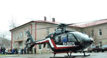 Попавшего в ДТП подростка доставили из Бутурлиновского района в Воронеж на вертолете