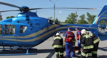 Эпичную спасательную операцию с вертолетом показали на трассе М-4 «Дон»