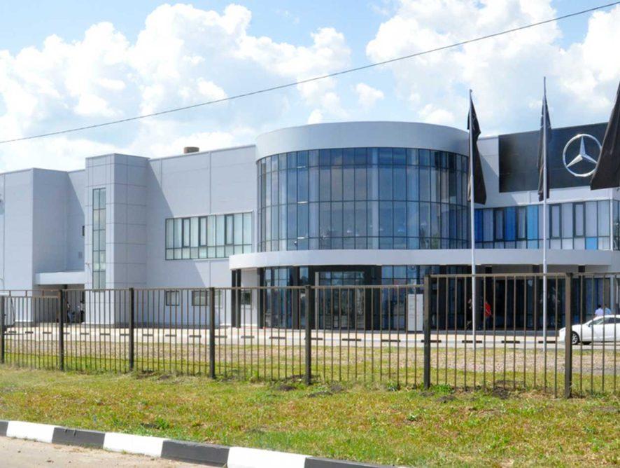 В Белгороде открылся новый грузовой дилерский центр Mercedes-Benz