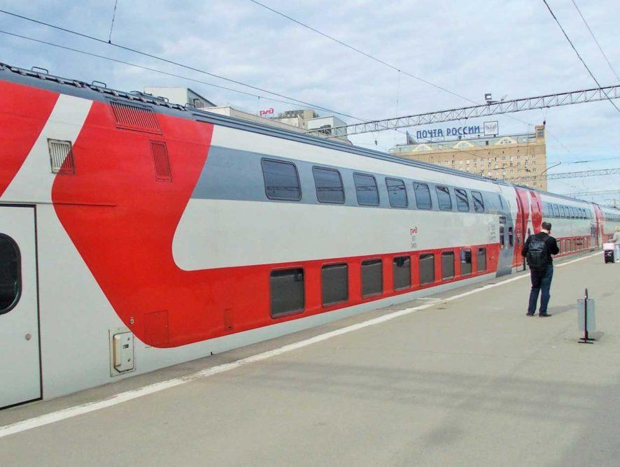 Двухэтажный поезд будет курсировать из Москвы в Анапу в летний сезон 2019 года