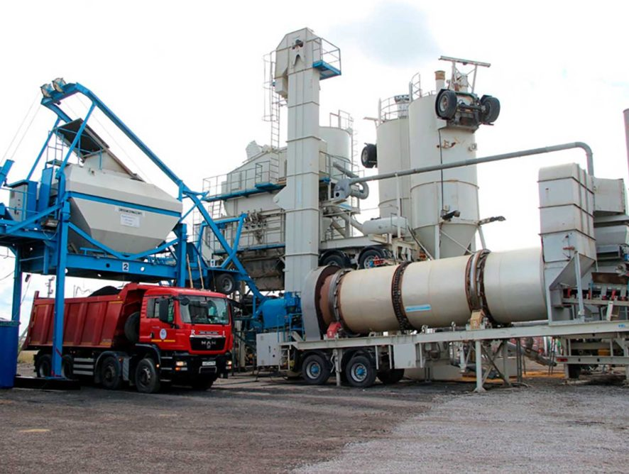 В Липецкой области открылся новый асфальтобетонный завод