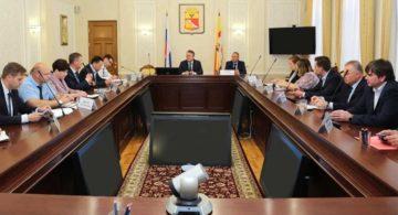 Японцы обсудили с мэром Воронежа проект создания рельсового транспорта