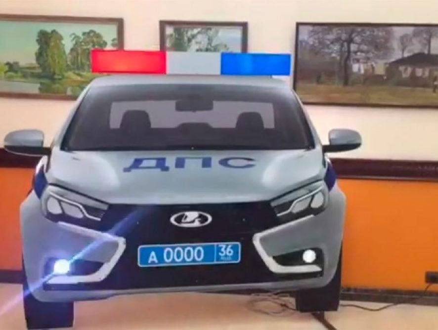 Воронежских водителей напугают муляжами машин ДПС с иллюминацией