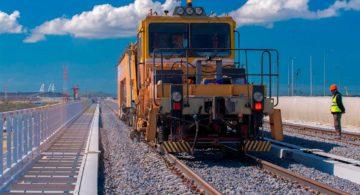 На Крымском мосту в сентябре начнется монтаж поездной автоматики