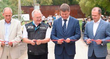 НЛМК построил в Липецкой области дорогу по новой технологии стабилизации грунта