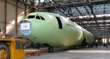 В Воронеже завершили стапельную сборку новейшего Ил-96-400М