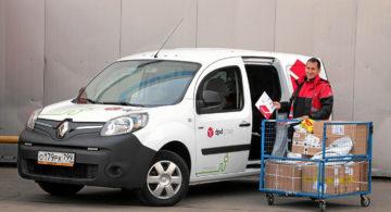 DPD запускает экологичную доставку с Renault