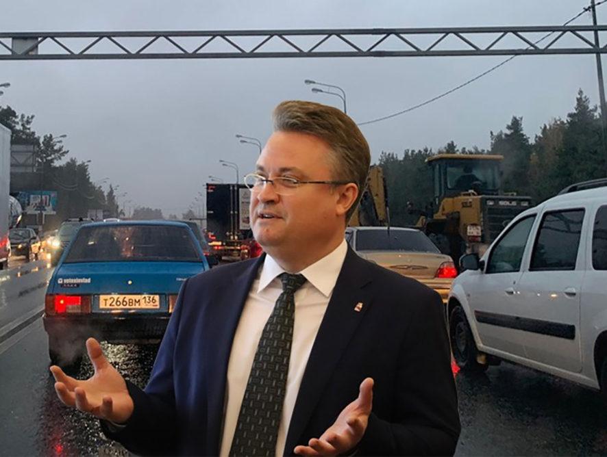 Ради выделенных полос жителей Воронежа поставят в новые пробки