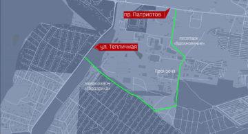 Новую дорогу построят у Тенистого в Воронеже