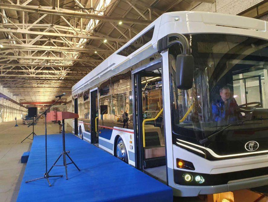 В Энгельсе будут выпускать троллейбус нового поколения