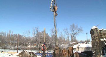 В Воронеже залили первые опоры для нового виадука на 9 Января