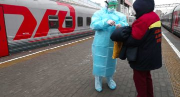 Отменили поезда из Адлера в Калининград