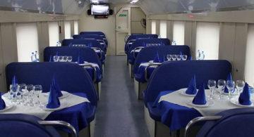 В поездах временно закрыли вагоны-рестораны