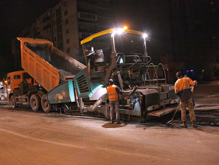 За три года в Воронеже починили более 366 км дорог
